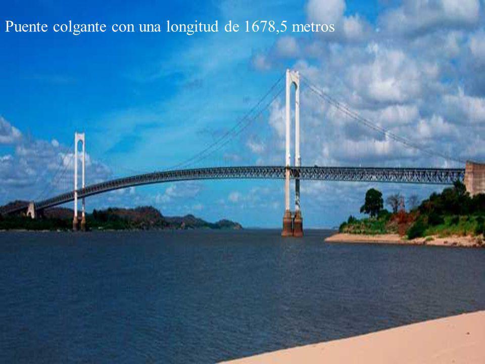 Vista desde el paseo Orinoco hacia el puente