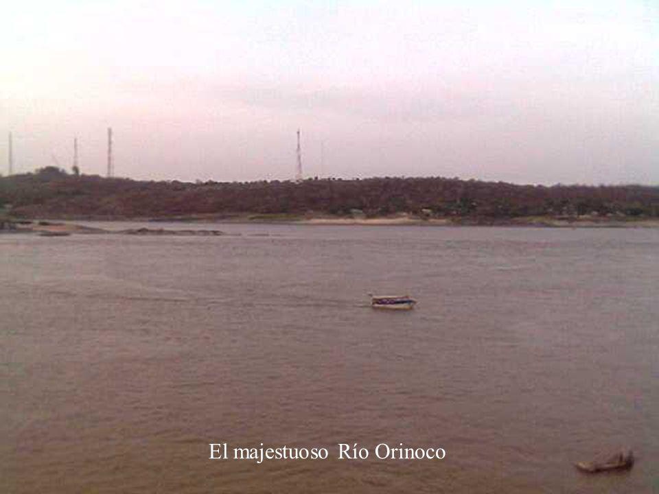 El majestuoso Río Orinoco