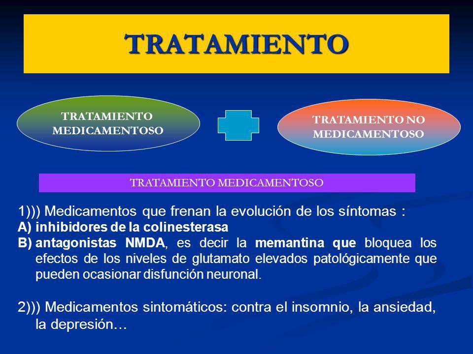 TRATAMIENTO MEDICAMENTOSO