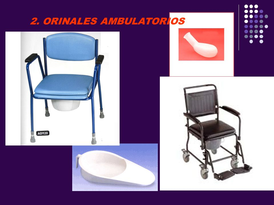 2. ORINALES AMBULATORIOS