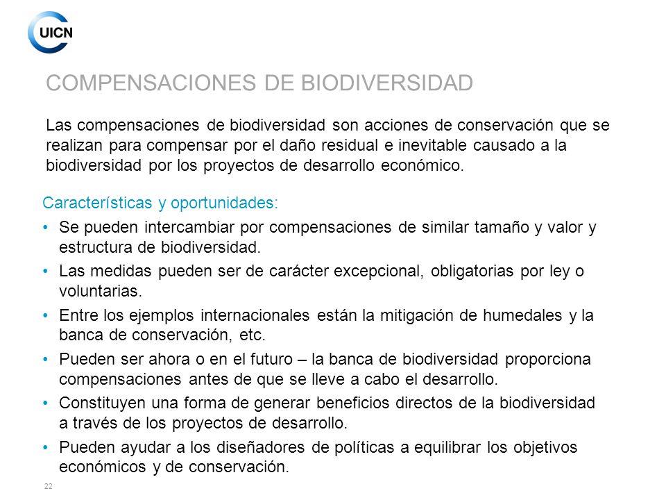 COMPENSACIONES DE BIODIVERSIDAD
