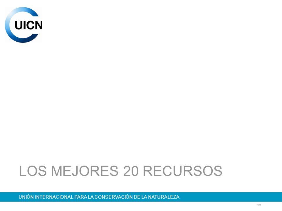 LOS MEJORES 20 RECURSOS