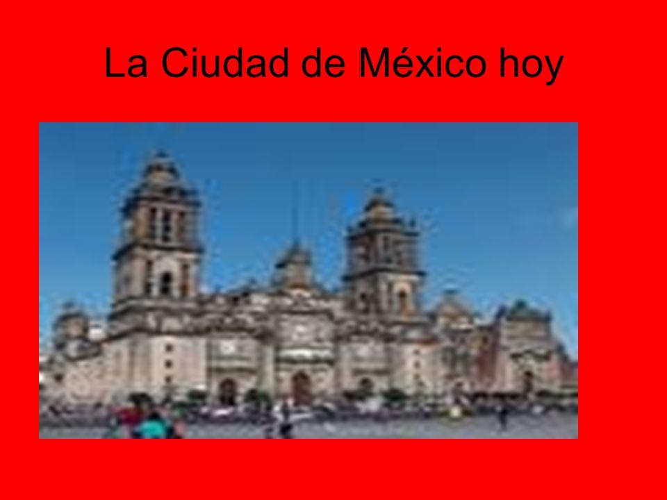 La Ciudad de México hoy