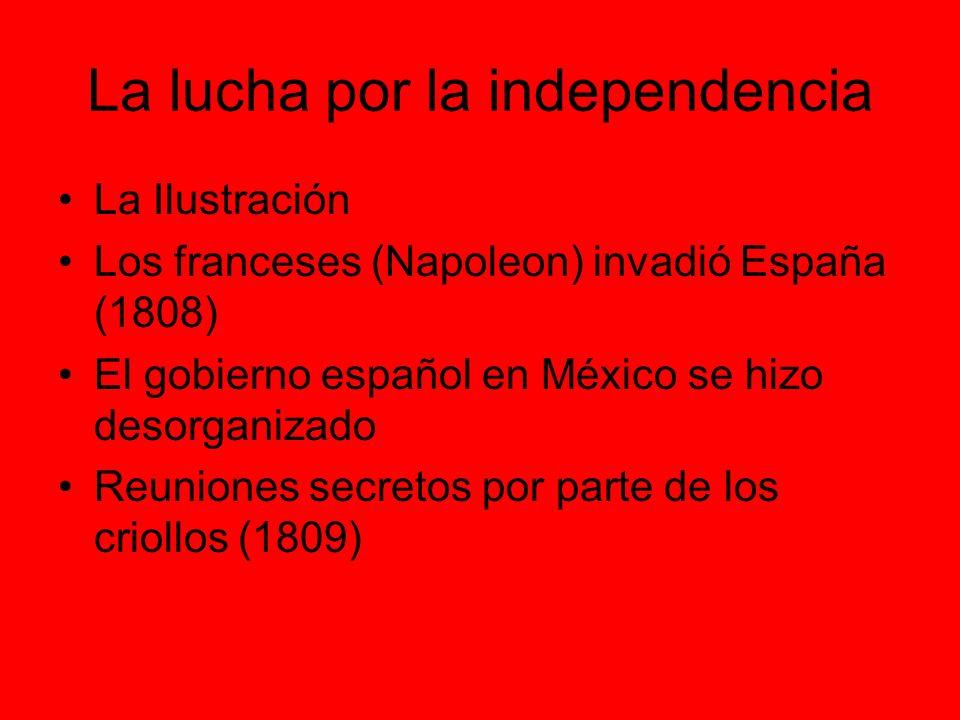 La lucha por la independencia
