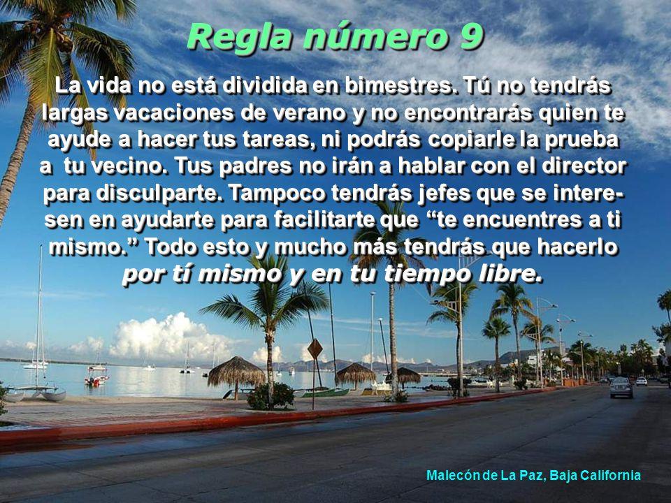 Regla número 9