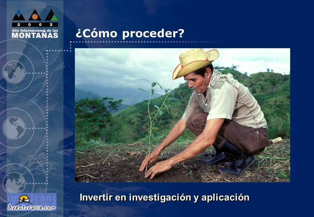 ¿Cómo proceder Invertir en investigación y aplicación 6