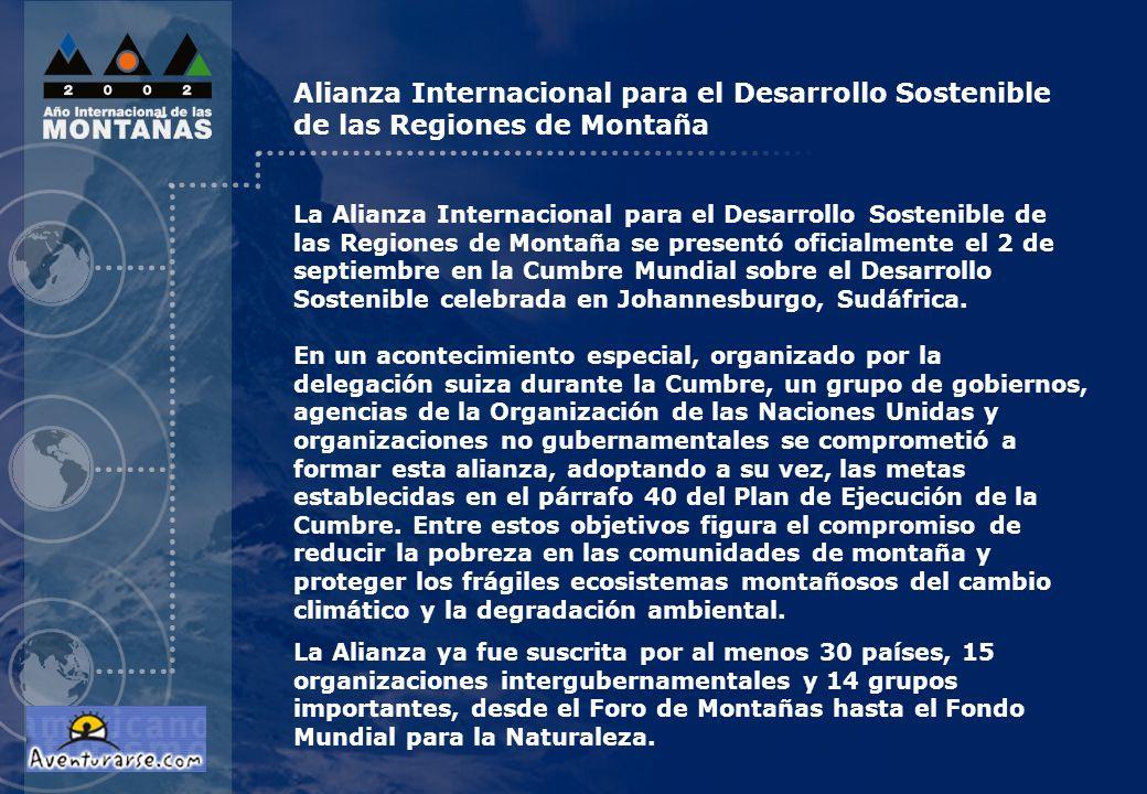 Alianza Internacional para el Desarrollo Sostenible de las Regiones de Montaña