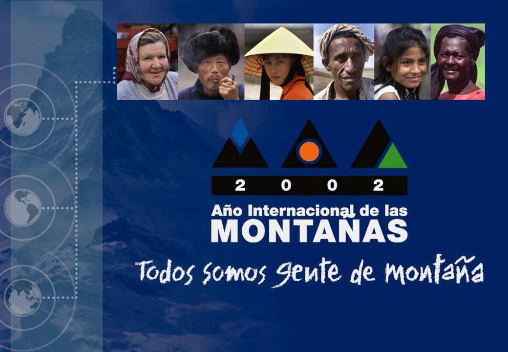 1 Introducción al Año Internacional de las Montañas diapositiva 1