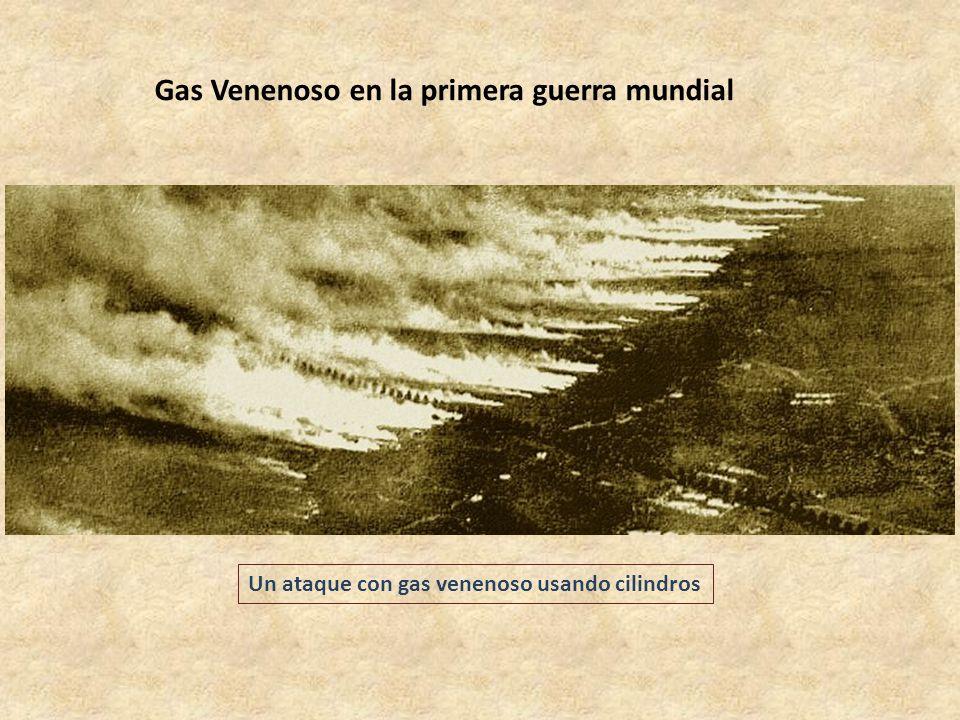 Gas Venenoso en la primera guerra mundial