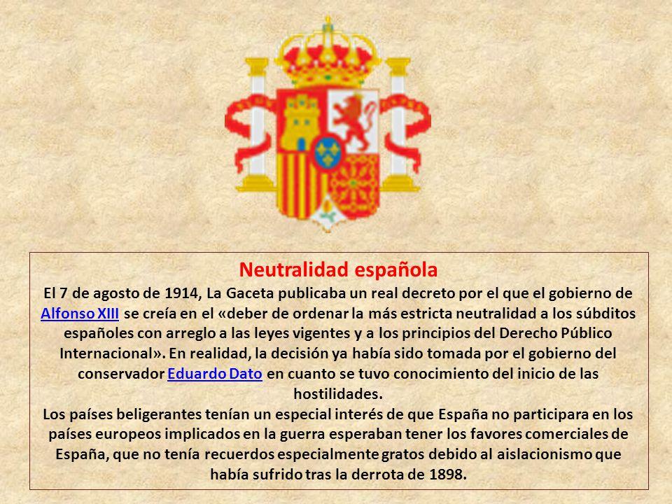 Neutralidad española
