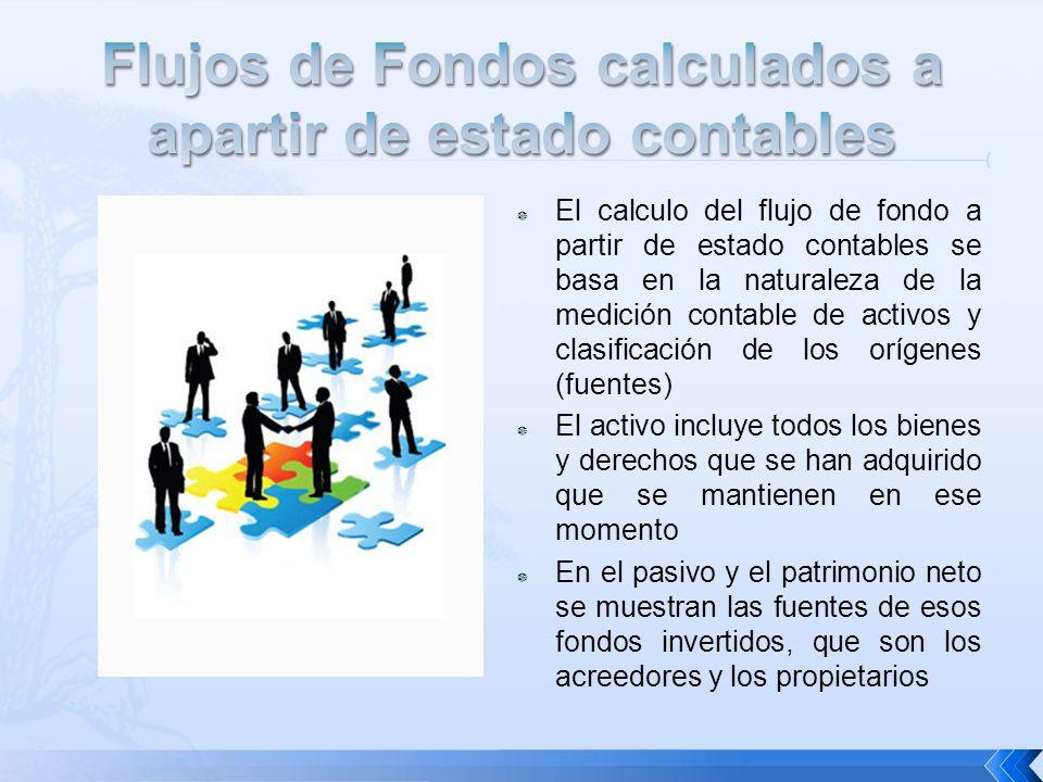 Flujos de Fondos calculados a apartir de estado contables