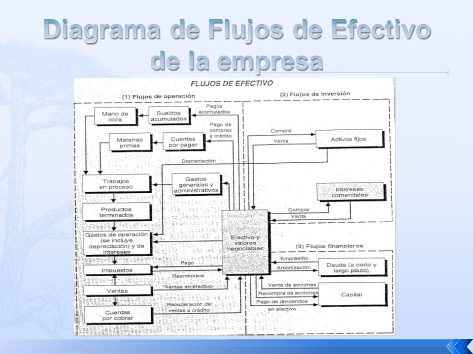 Diagrama de Flujos de Efectivo de la empresa