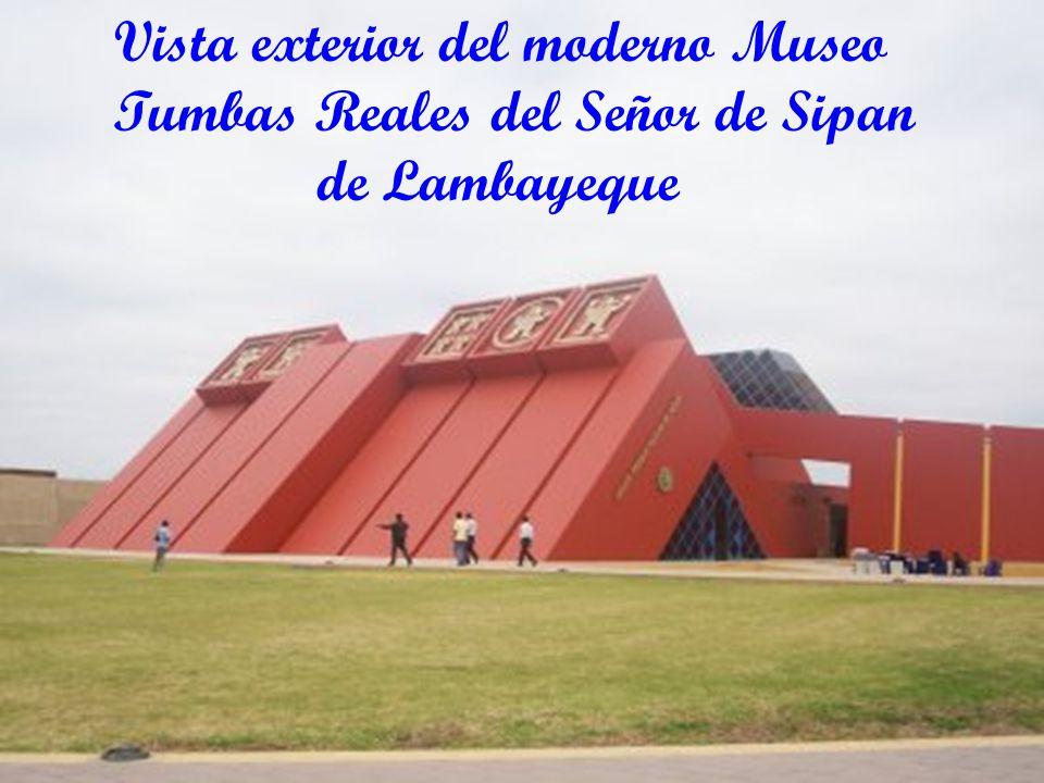 Vista exterior del moderno Museo