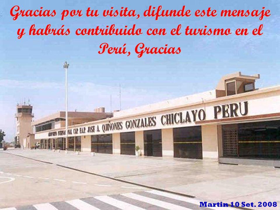 Gracias por tu visita, difunde este mensaje y habrás contribuido con el turismo en el Perú, Gracias