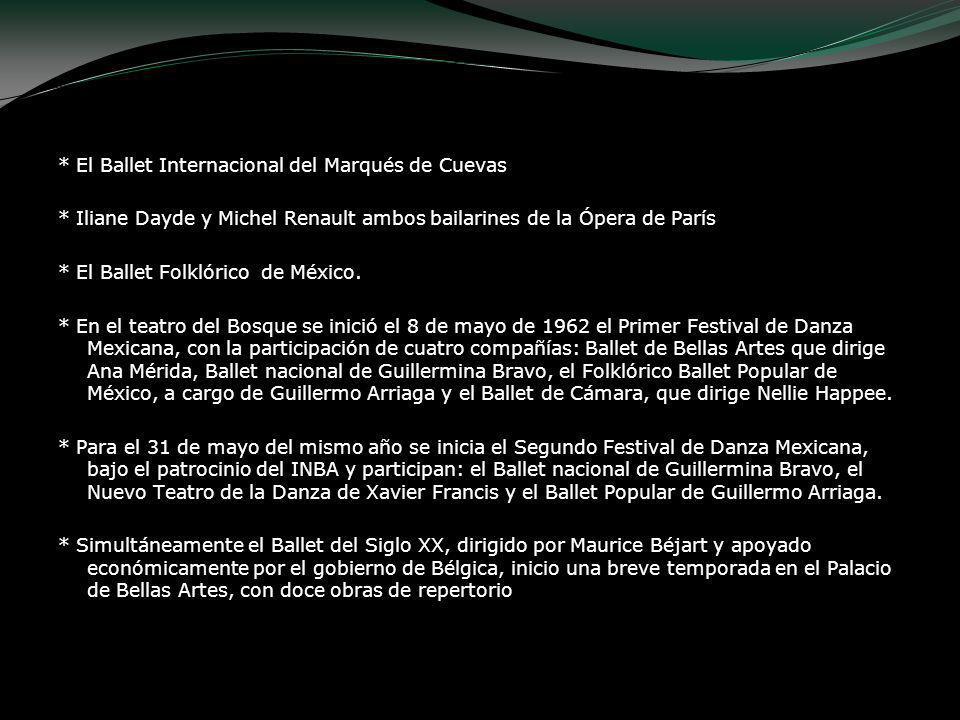 * El Ballet Internacional del Marqués de Cuevas