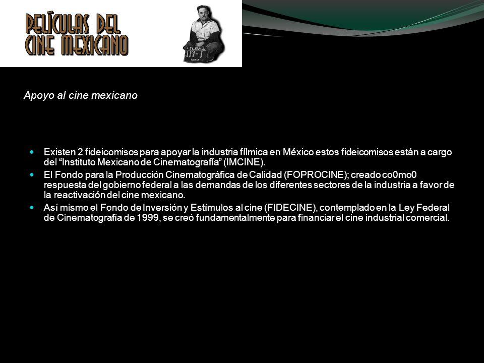 Apoyo al cine mexicano