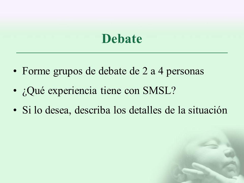 Debate Forme grupos de debate de 2 a 4 personas