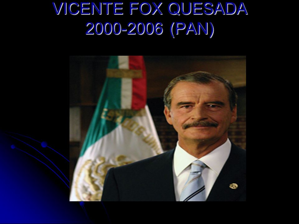 VICENTE FOX QUESADA (PAN)