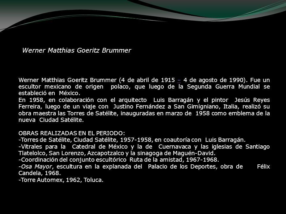 Werner Matthias Goeritz Brummer