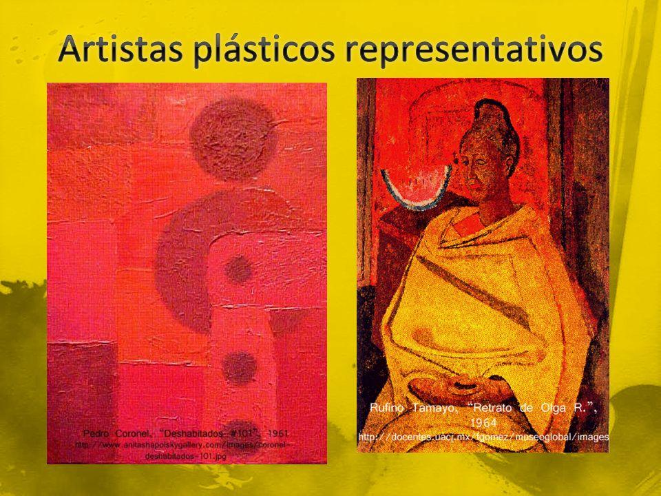Artistas plásticos representativos