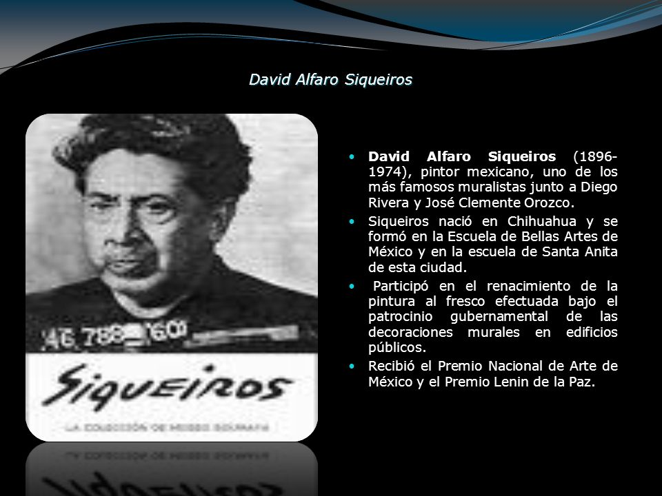 David Alfaro Siqueiros