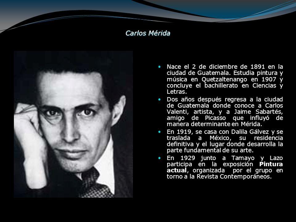 Carlos Mérida