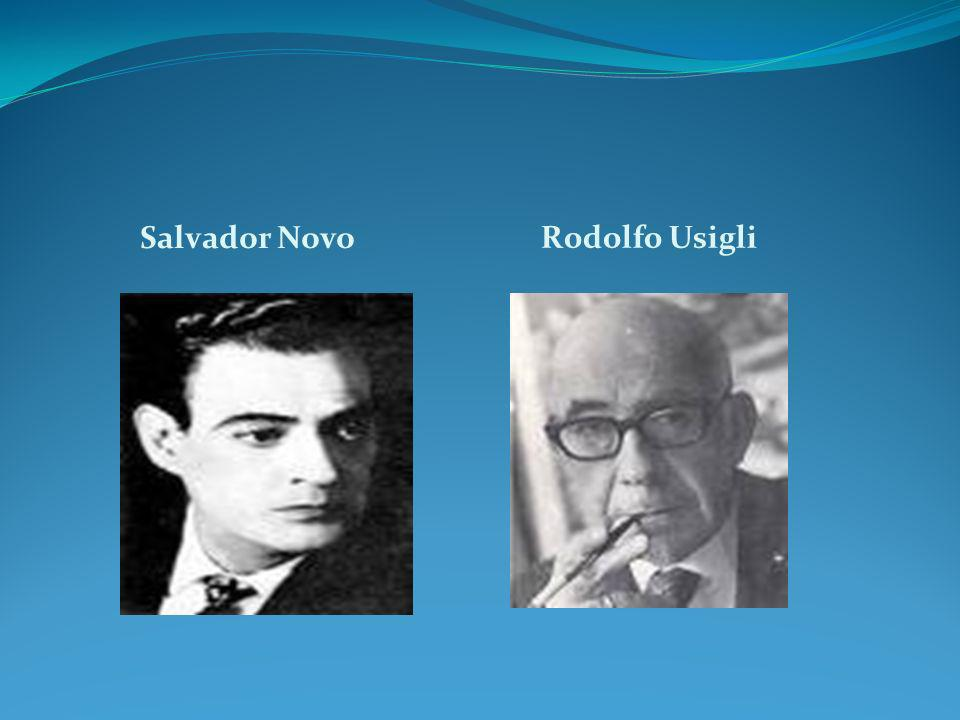 Salvador Novo Rodolfo Usigli Salvador Novo y Rodolfo Usigli