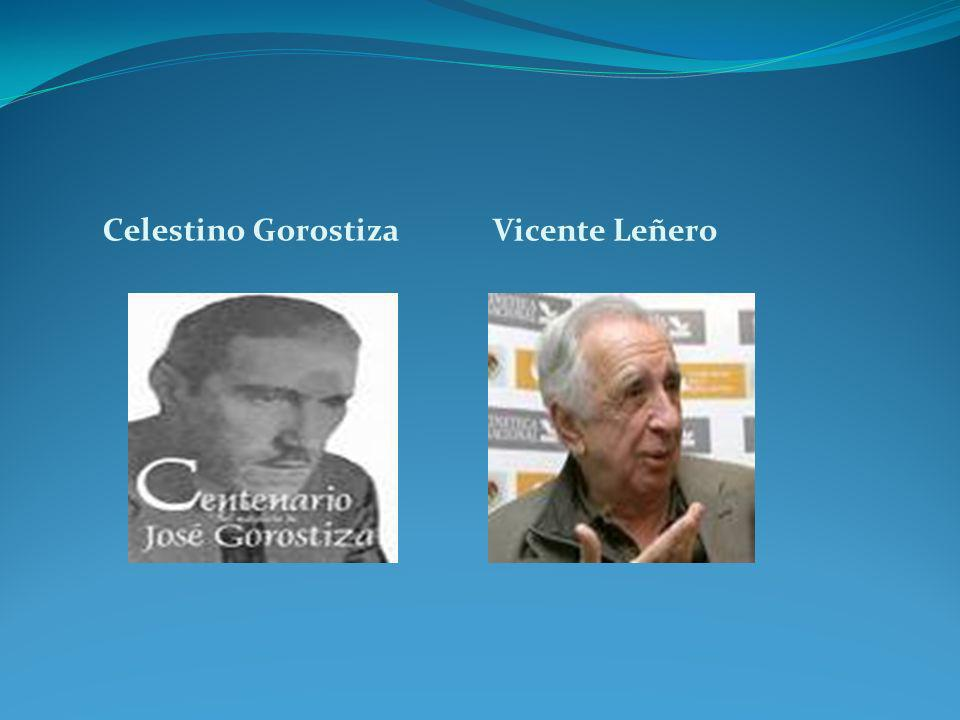 Celestino Gorostiza Vicente Leñero