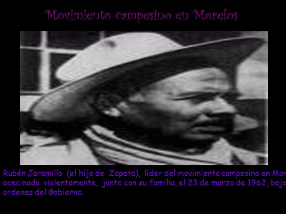 Movimiento campesino en Morelos