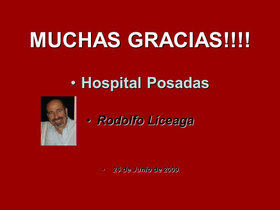 MUCHAS GRACIAS!!!! Hospital Posadas Rodolfo Liceaga
