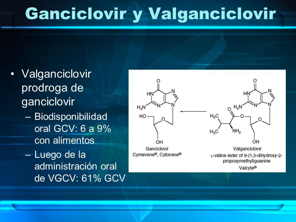 Ganciclovir y Valganciclovir