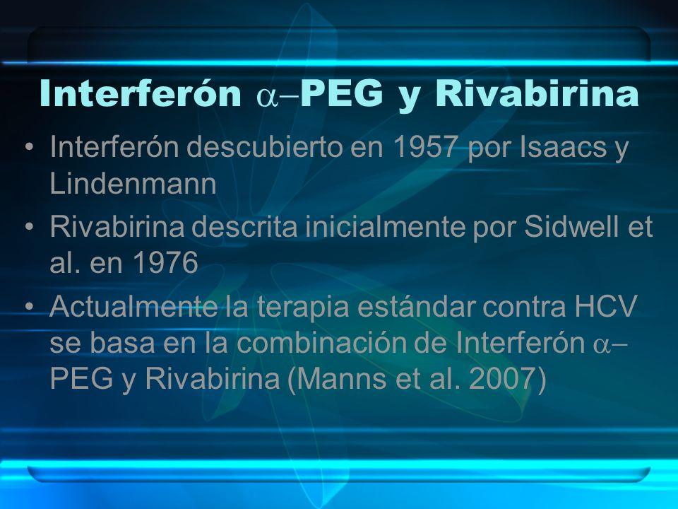Interferón a-PEG y Rivabirina