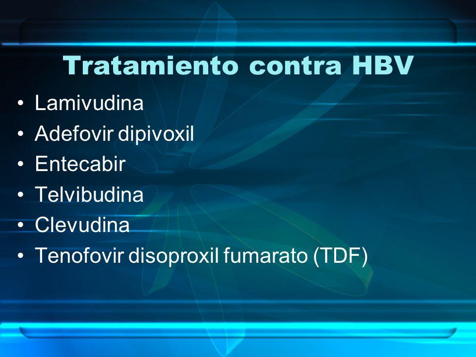 Tratamiento contra HBV