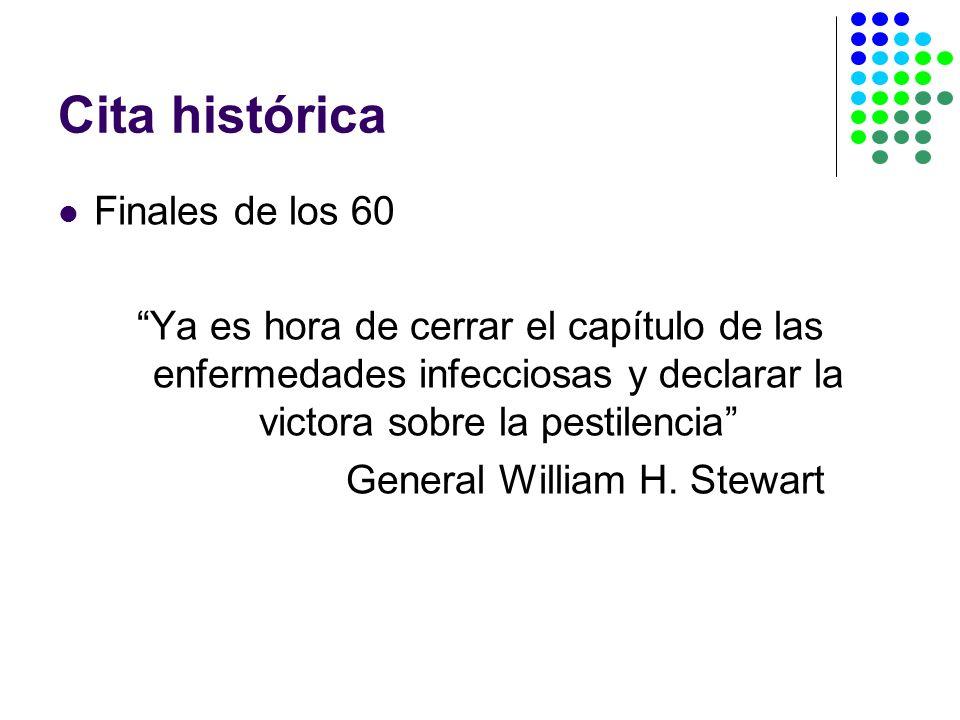 Cita histórica Finales de los 60