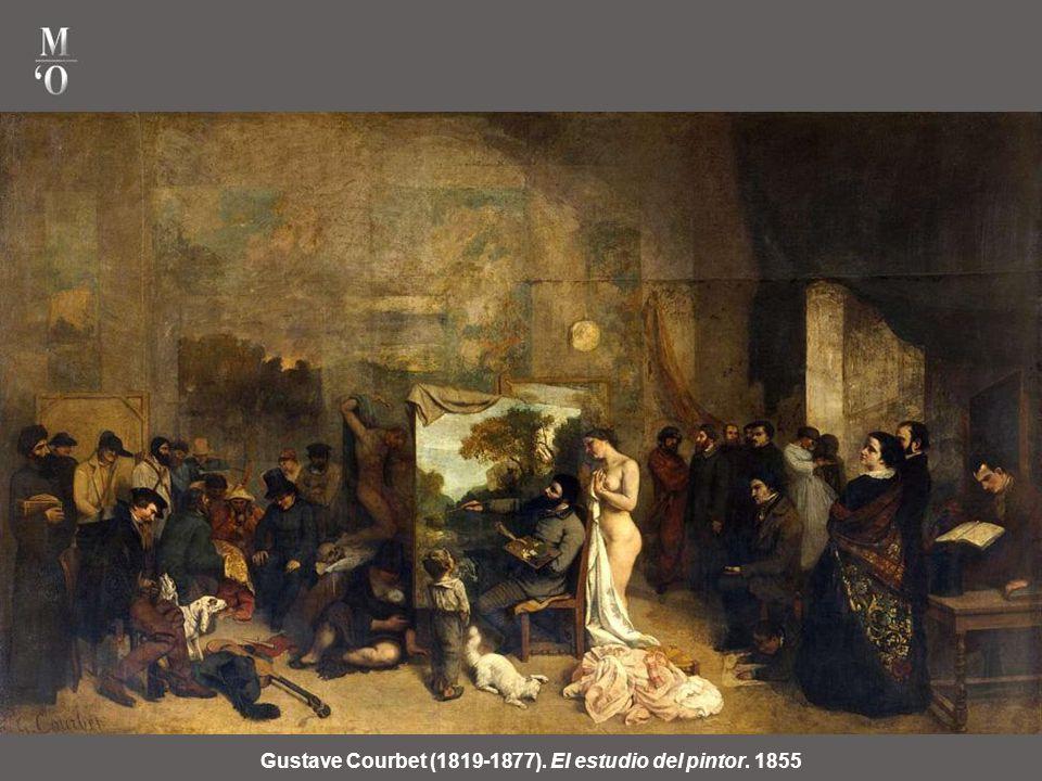 Gustave Courbet (1819-1877). El estudio del pintor. 1855