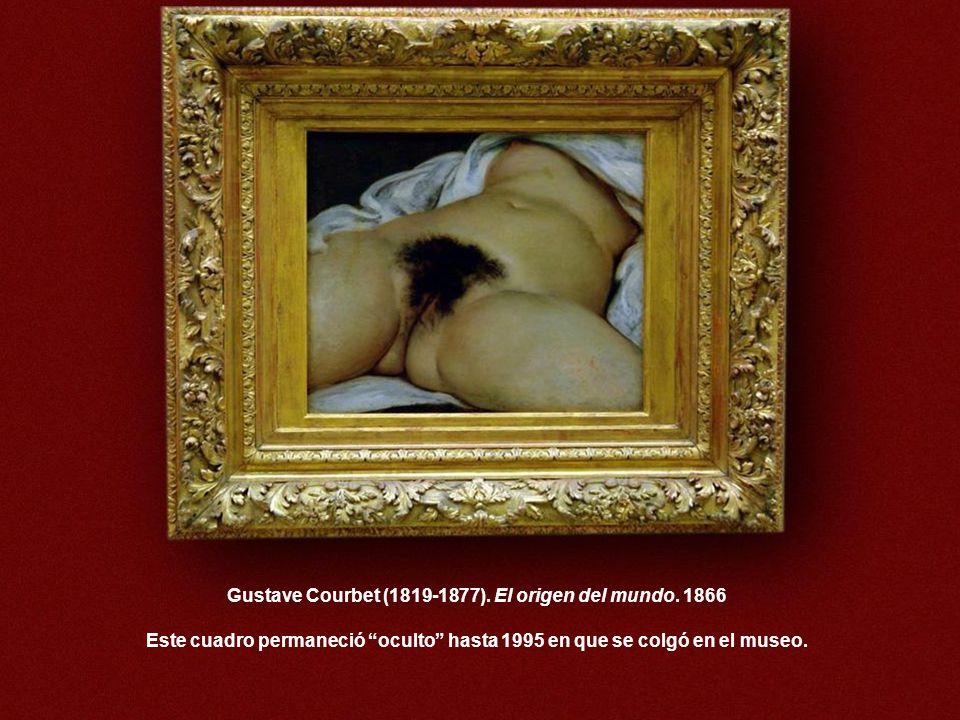 Gustave Courbet (1819-1877). El origen del mundo. 1866