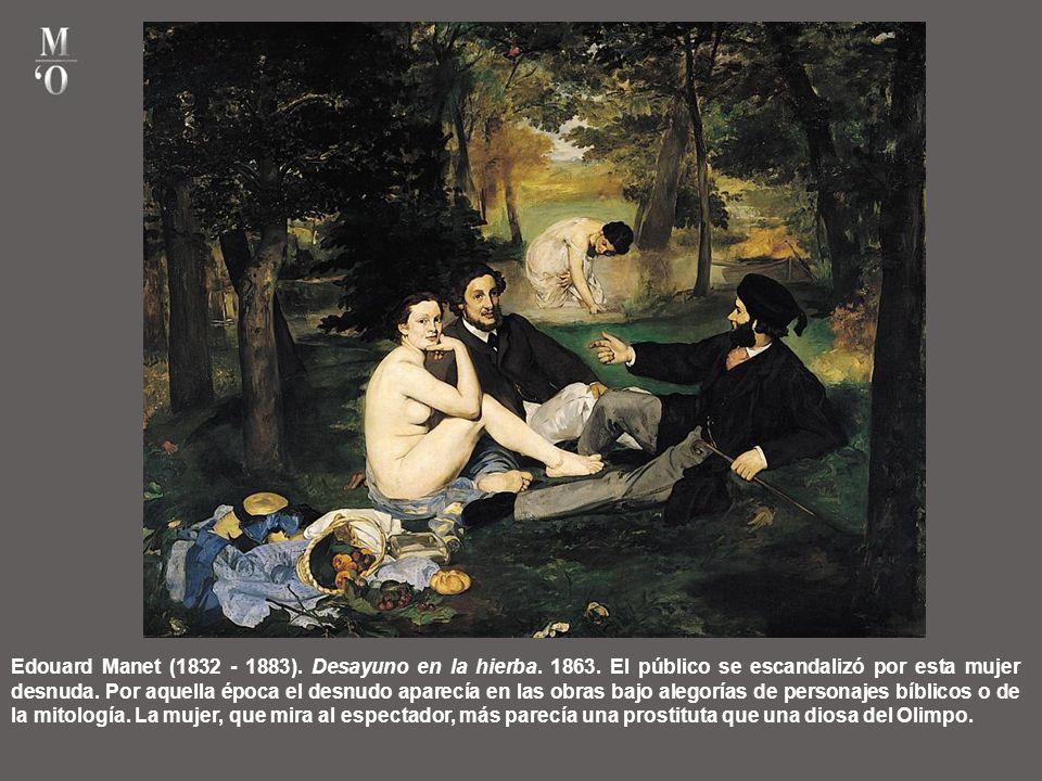 Edouard Manet (1832 - 1883). Desayuno en la hierba. 1863