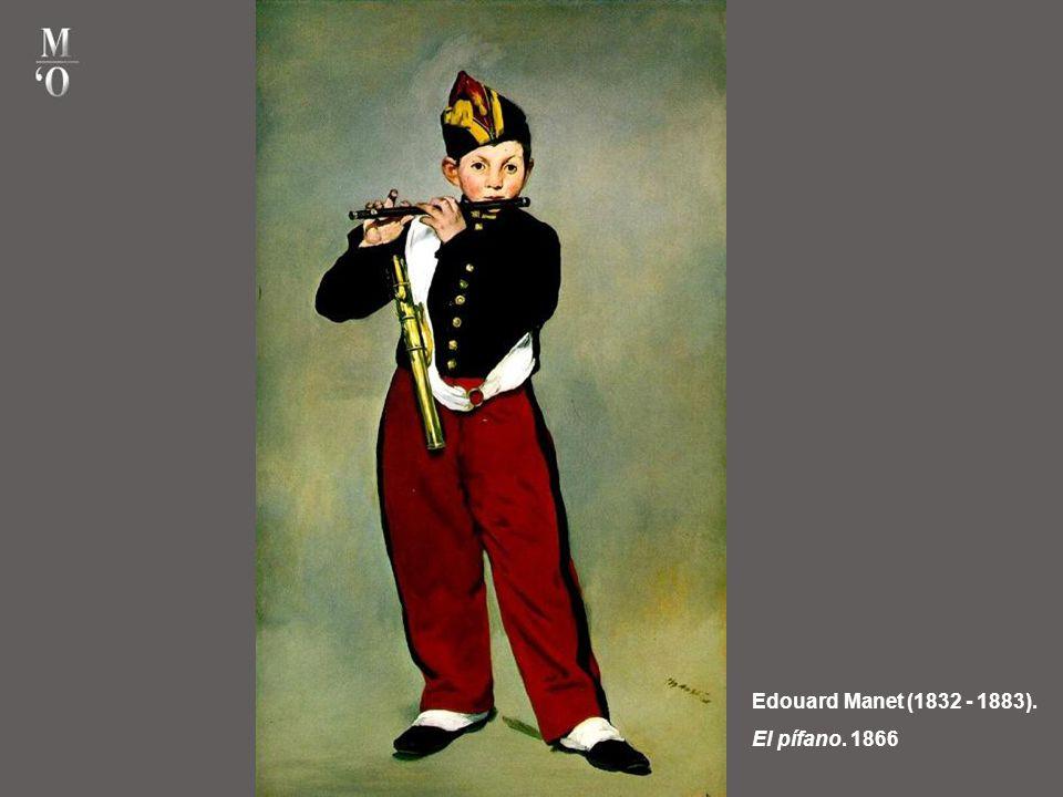 Edouard Manet (1832 - 1883). El pífano. 1866