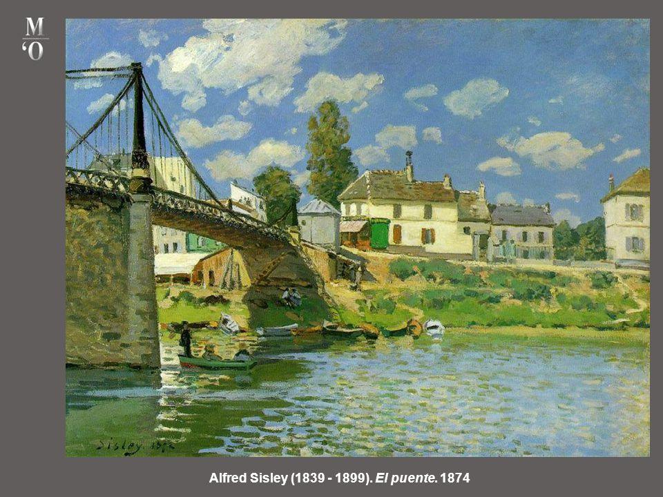 Alfred Sisley (1839 - 1899). El puente. 1874