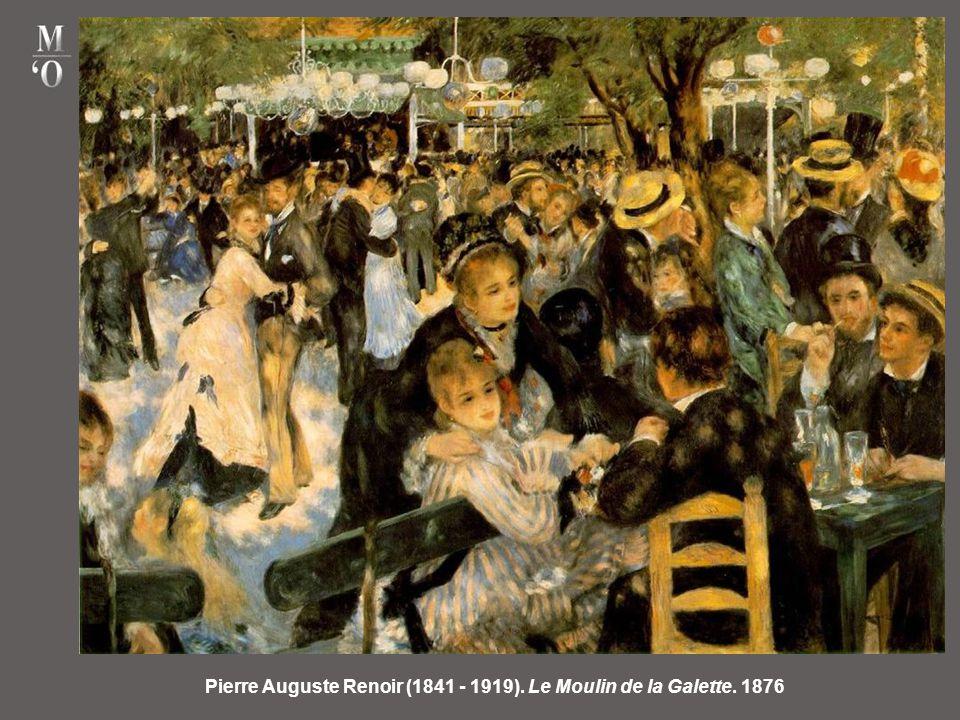 Pierre Auguste Renoir (1841 - 1919). Le Moulin de la Galette. 1876