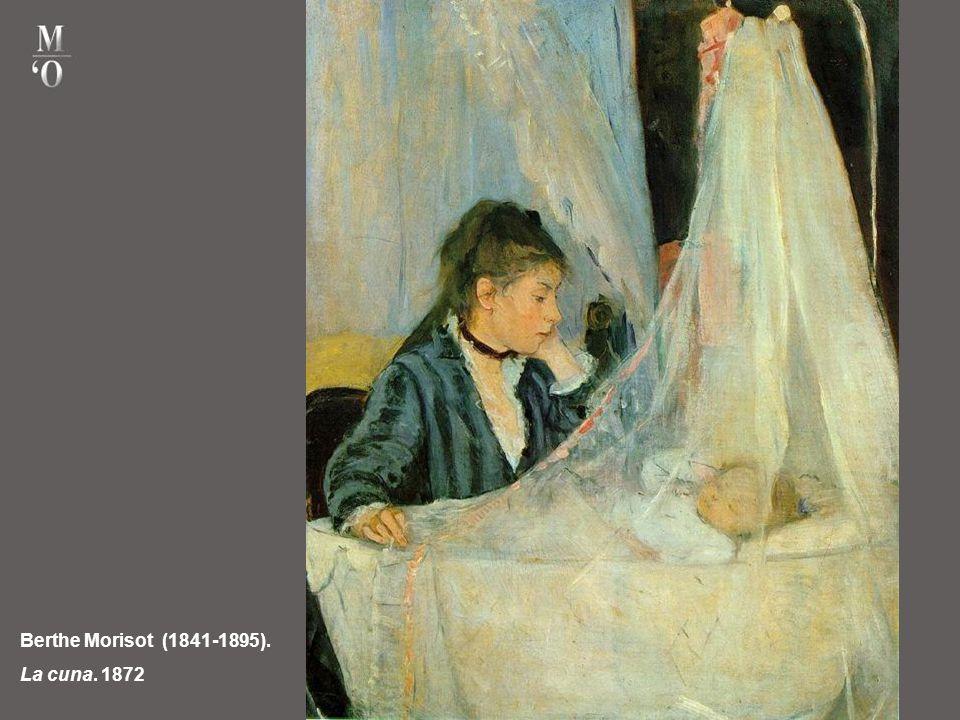 Berthe Morisot (1841-1895). La cuna. 1872