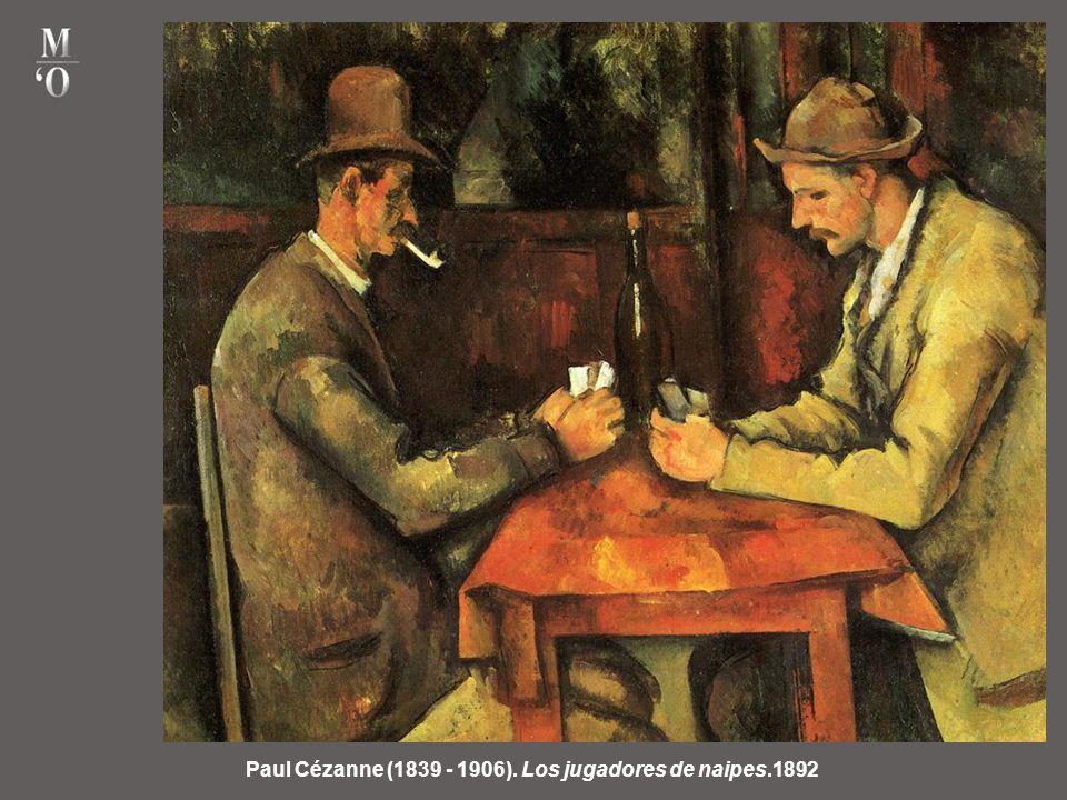 Paul Cézanne (1839 - 1906). Los jugadores de naipes.1892