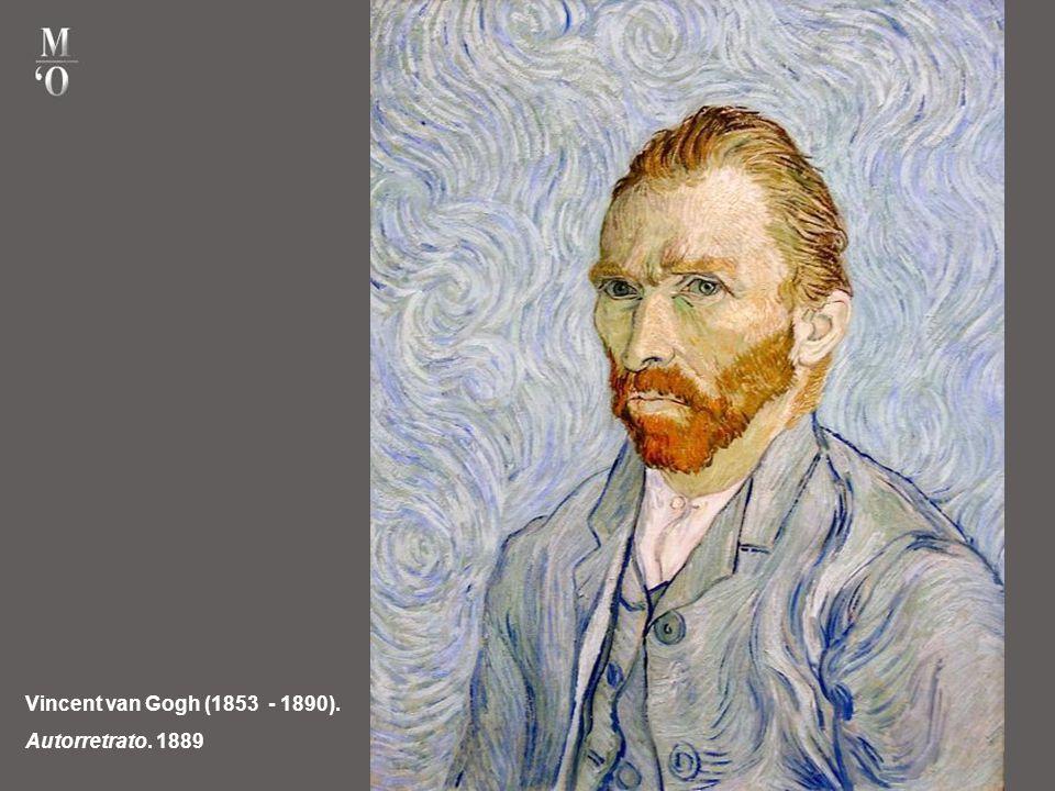 Vincent van Gogh (1853 - 1890). Autorretrato. 1889