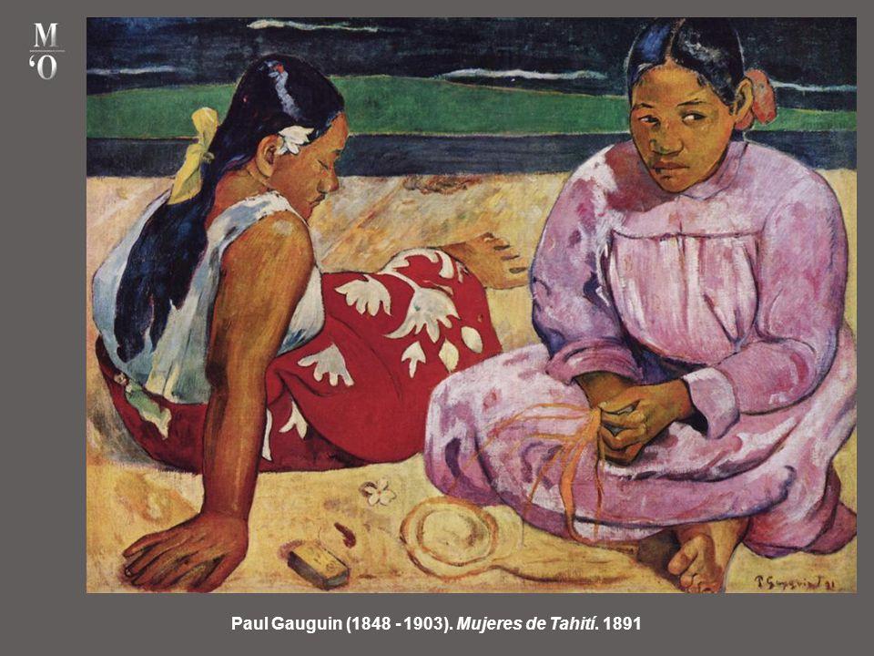 Paul Gauguin (1848 - 1903). Mujeres de Tahití. 1891