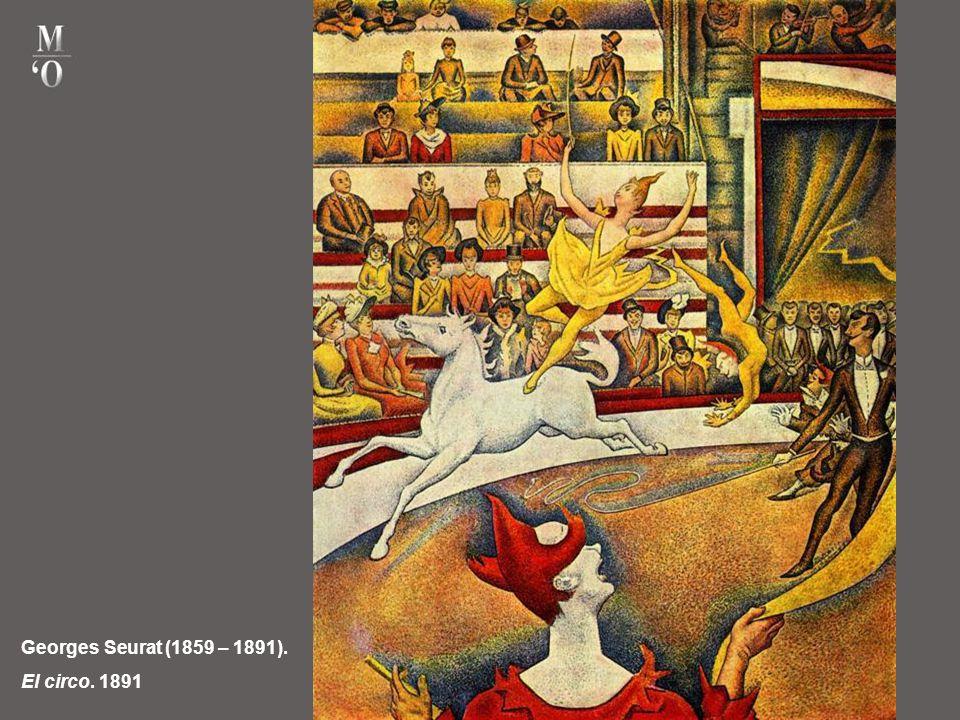 Georges Seurat (1859 – 1891). El circo. 1891