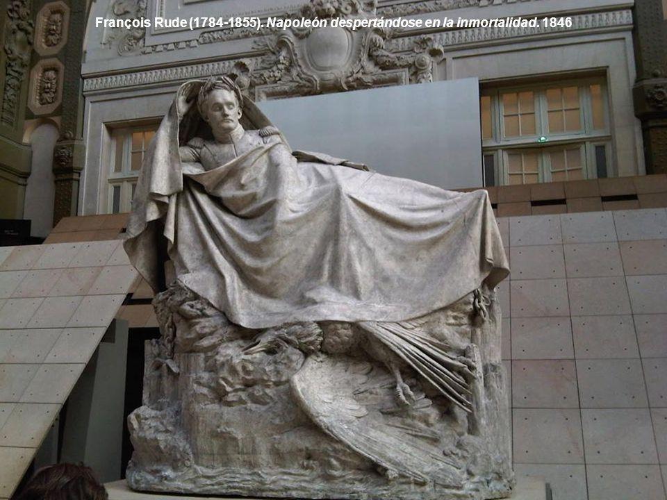 François Rude (1784-1855). Napoleón despertándose en la inmortalidad