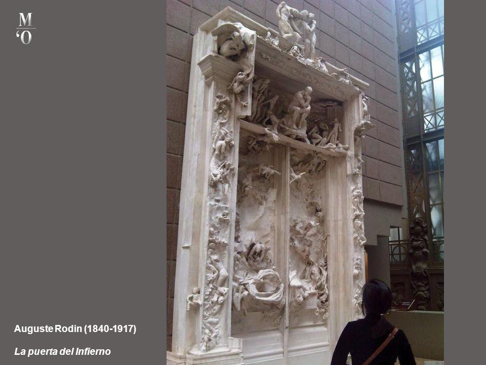 Auguste Rodin (1840-1917) La puerta del Infierno