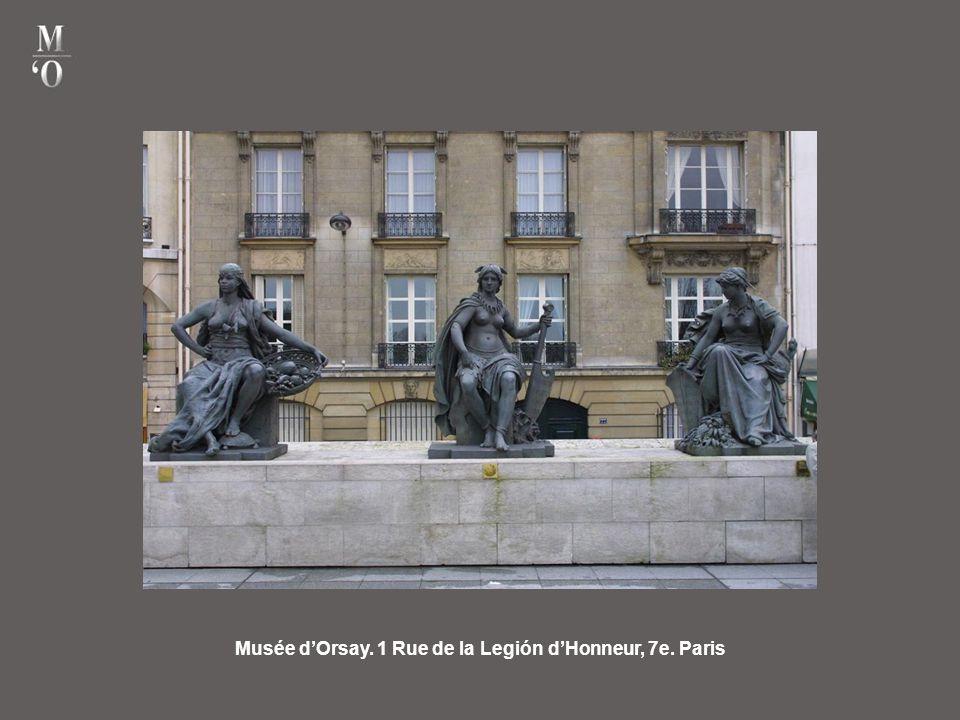 Musée d'Orsay. 1 Rue de la Legión d'Honneur, 7e. Paris