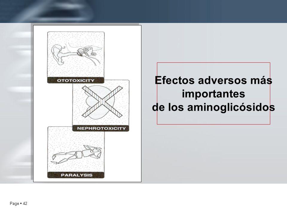 de los aminoglicósidos