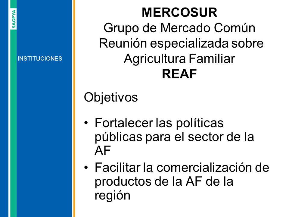 Fortalecer las políticas públicas para el sector de la AF